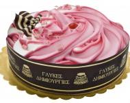 Τούρτα παγωτου Φράουλα Fino